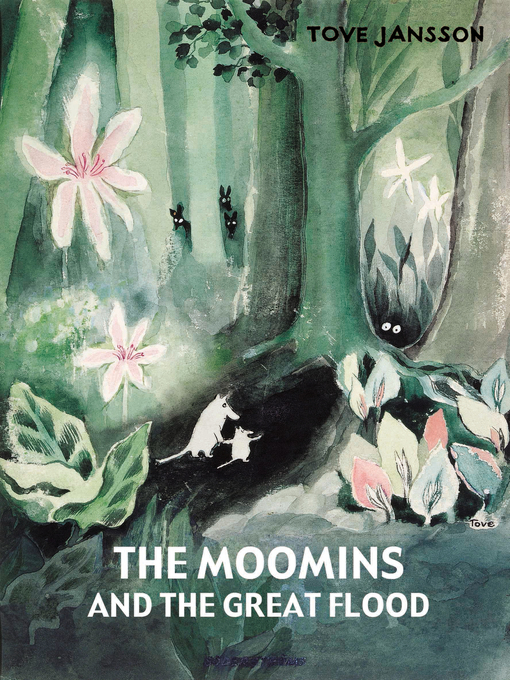 Cover of The Moomins and the Great Flood
