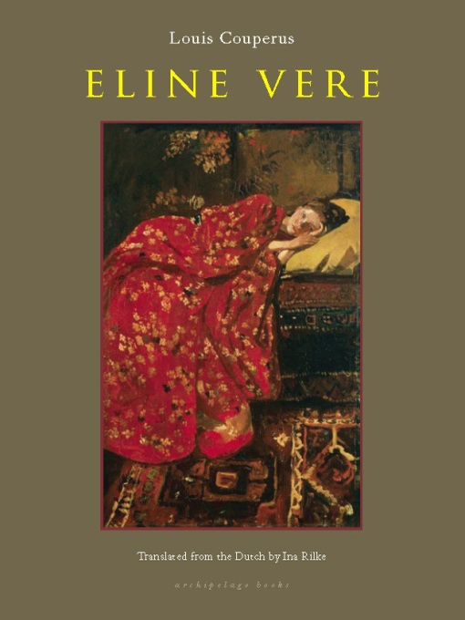 Cover of Eline Vere