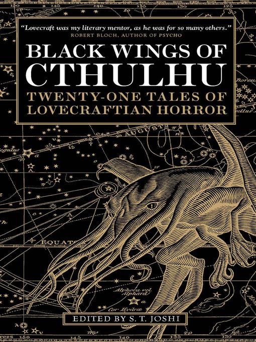 Upplýsingar um Black Wings of Cthulhu (Volume One) eftir S. T. Joshi - Til útláns