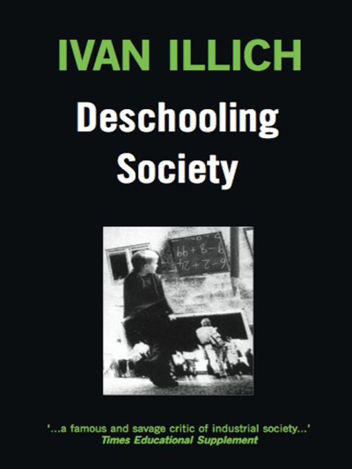 Cover of Deschooling Society