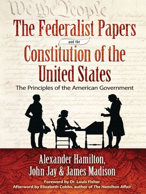 author of federalist papers Anti-federalist paper #1 i am pleased to see a spirit of inquiry burst the band of constraint upon the subject of the new plan for consolidating the governments of.