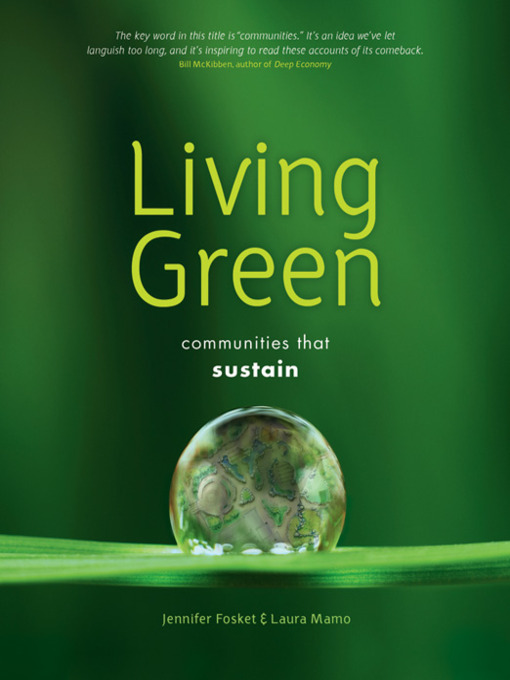 Title details for Living Green by Jennifer Fosket - Available