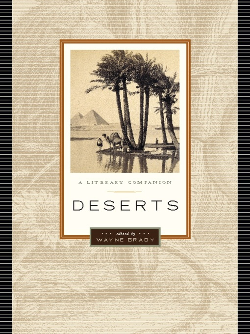 Title details for Deserts by Wayne Grady - Available