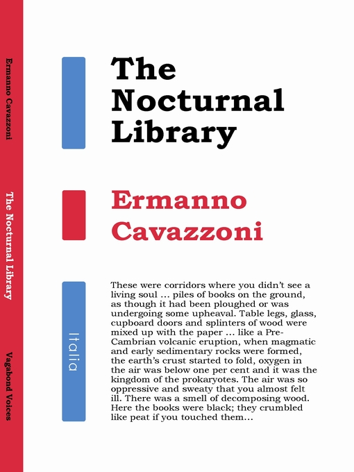 Title details for The Nocturnal Library by Ermanno Cavazzoni - Available