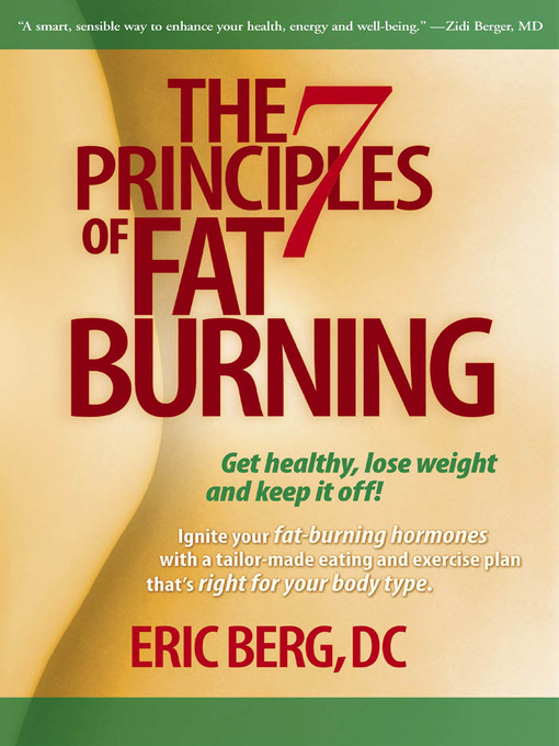 Title details for The 7 Principles of Fat Burning by Eric Berg - Wait list