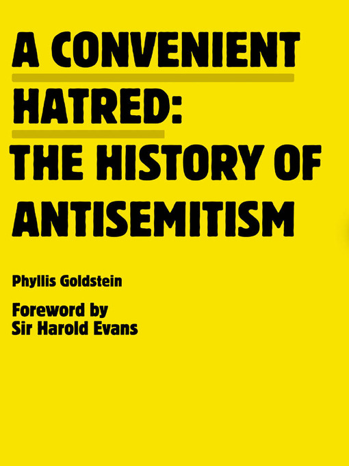 Cover of A Convenient Hatred