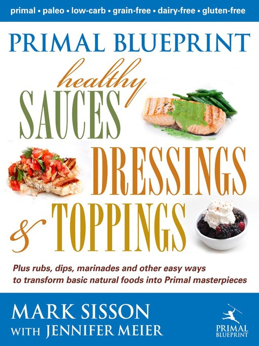 Primal blueprint healthy sauces dressings and toppings national title details for primal blueprint healthy sauces dressings and toppings by mark sisson malvernweather Image collections