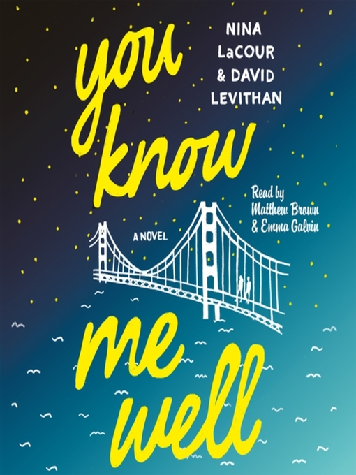 Title details for You Know Me Well by David Levithan - Wait list