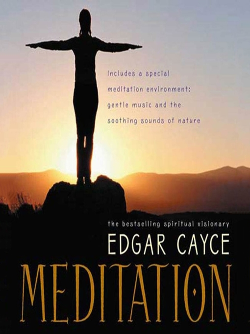 Title details for Meditation by Edgar Cayce - Available