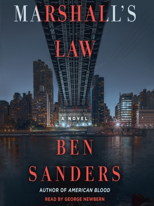 Title details for Marshall's Law--A Novel by Ben Sanders - Wait list