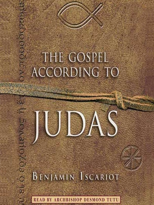 Title details for The Gospel According to Judas by Benjamin Iscariot by Jeffrey Archer - Wait list