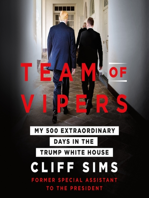Title details for Team of Vipers by Cliff Sims - Wait list
