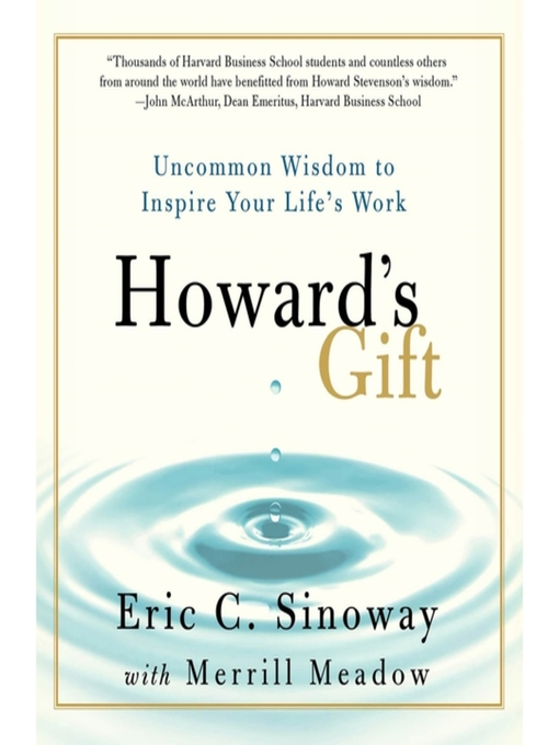 Title details for Howard's Gift by Eric Sinoway - Available