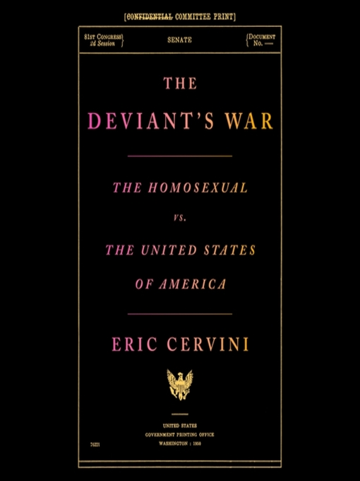 Title details for The Deviant's War by Eric Cervini - Available