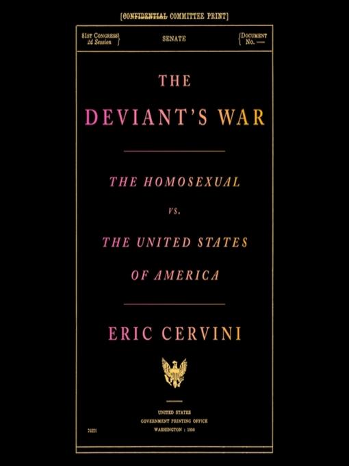 Title details for The Deviant's War by Eric Cervini - Available