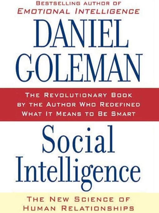 Title details for Social Intelligence by Daniel Goleman - Wait list