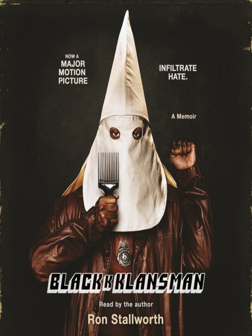 Cover image for Black Klansman