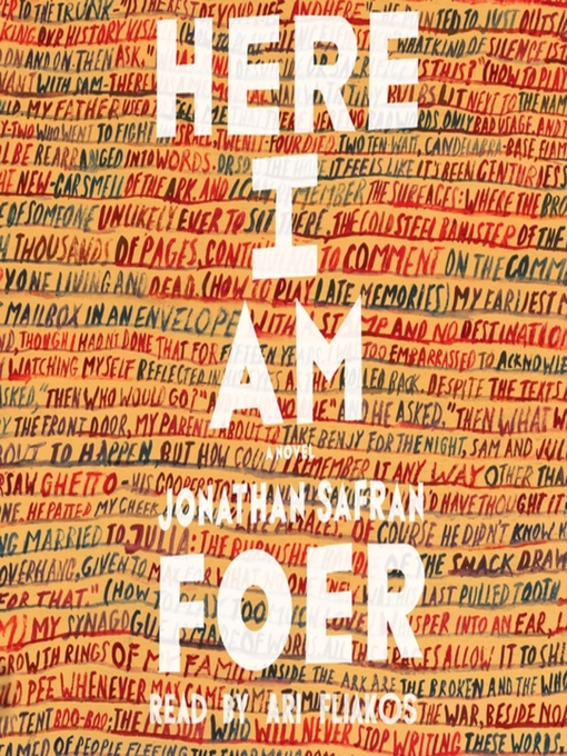 Title details for Here I Am by Jonathan Safran Foer - Wait list