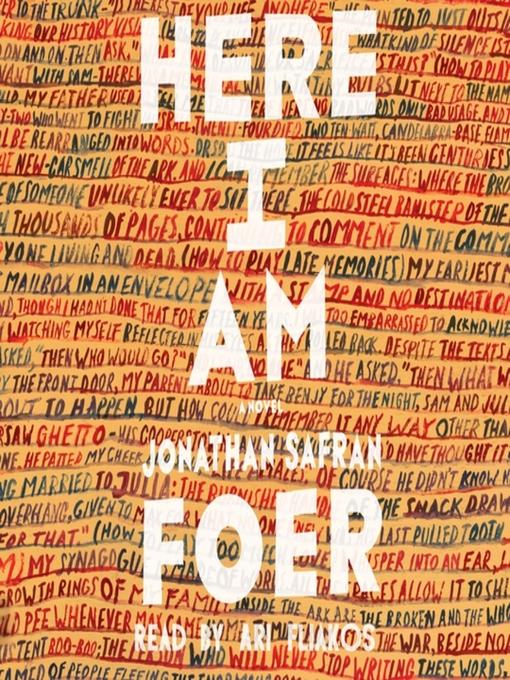 Here I am : a novel