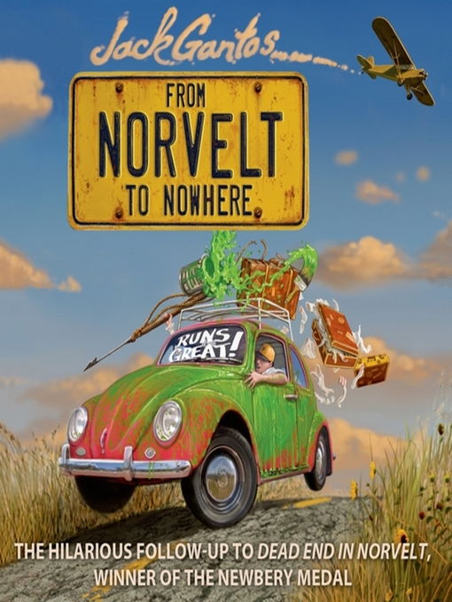 Title details for From Norvelt to Nowhere by Jack Gantos - Wait list