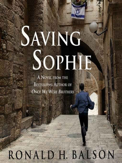 Cover of Saving Sophie--A Novel