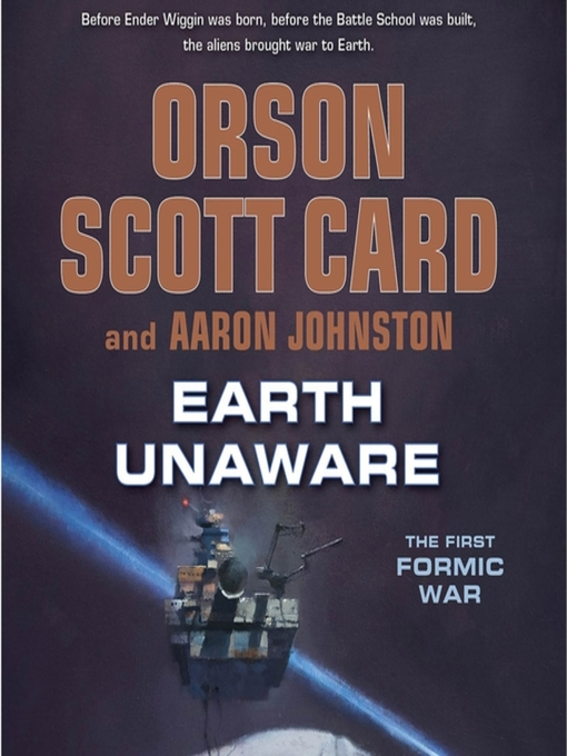 Title details for Earth Unaware by Orson Scott Card - Wait list