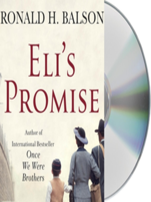 Cover of Eli's Promise