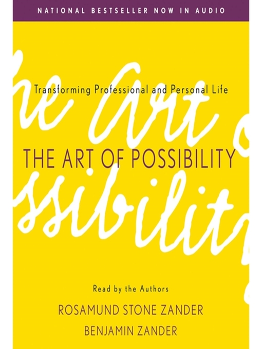 Title details for The Art of Possibility by Rosamund Stone Zander - Wait list