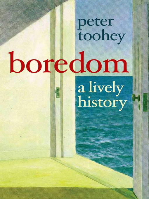 an introduction to the issue of boredom Simmel on acceleration, boredom, and extreme aesthesia kevin aho - 2007 - journal for the theory of social behaviour 37 (4):447-462.