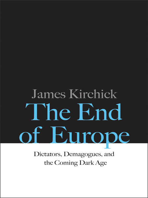 Cover of The End of Europe