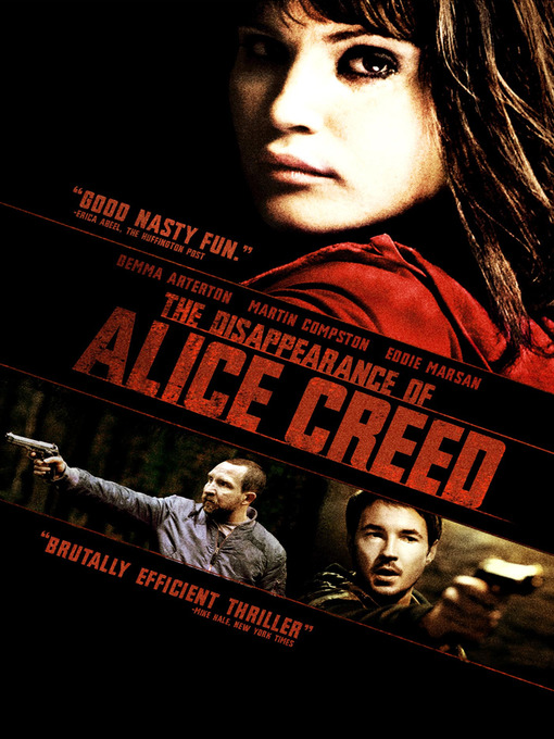 Cover of The Disappearance of Alice Creed