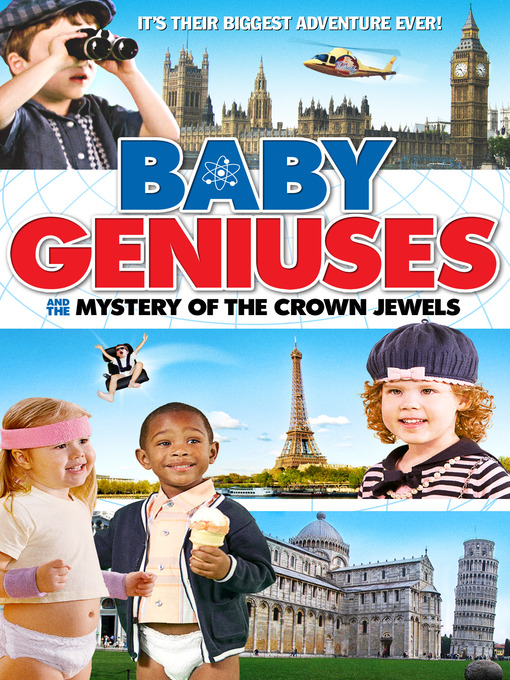 Cover of Baby Geniuses and the Mystery of the Crown Jewels