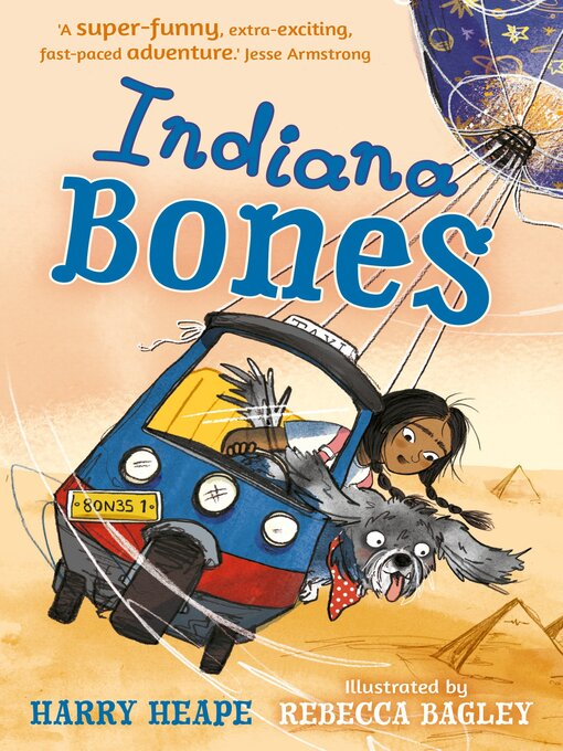 Title details for Indiana Bones by Harry Heape - Available