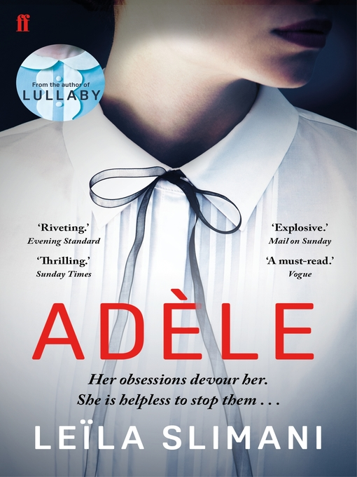 Title details for Adele by Leïla Slimani - Available