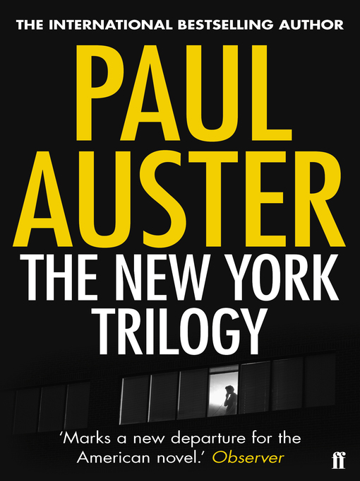 Title details for The New York Trilogy by Paul Auster - Available