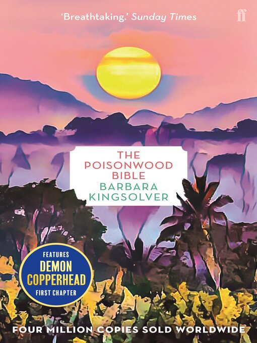an analysis of reading the poisonwood bible Literary analysis using the poisonwood bible by barbara kingsolver purpose the purpose of a literary analysis is to carefully examine and evaluate the work of literature you have been reading.