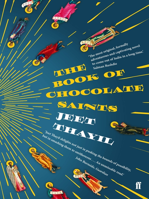 Title details for The Book of Chocolate Saints by Jeet Thayil - Available