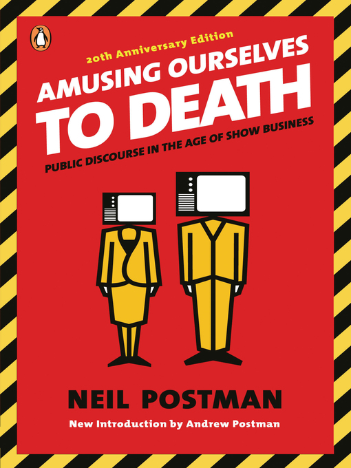 a review of amusing ourselves to User review - flag as inappropriate neil postman's amusing ourselves to death: public discourse in the age of show business provokes a contemplative argument against the effect that television has on our society and culture in the united states.