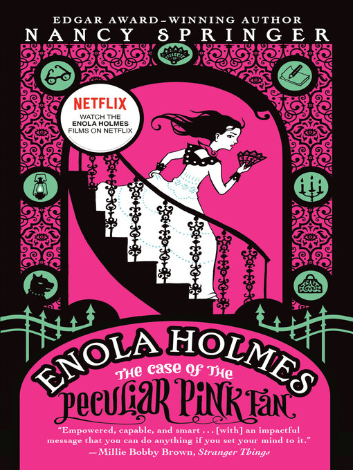 Title details for The Case of the Peculiar Pink Fan by Nancy Springer - Wait list