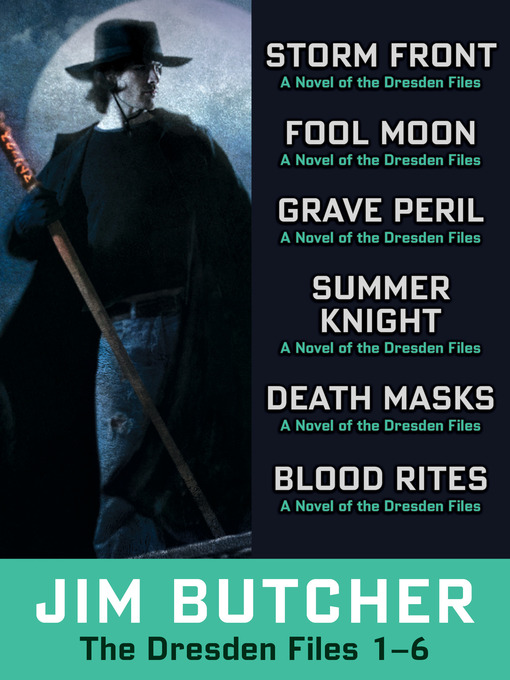 Title details for The Dresden Files Collection 1-6 by Jim Butcher - Wait list
