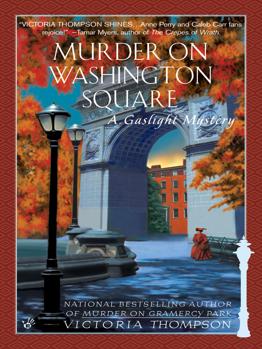 Cover of Murder on Washington Square