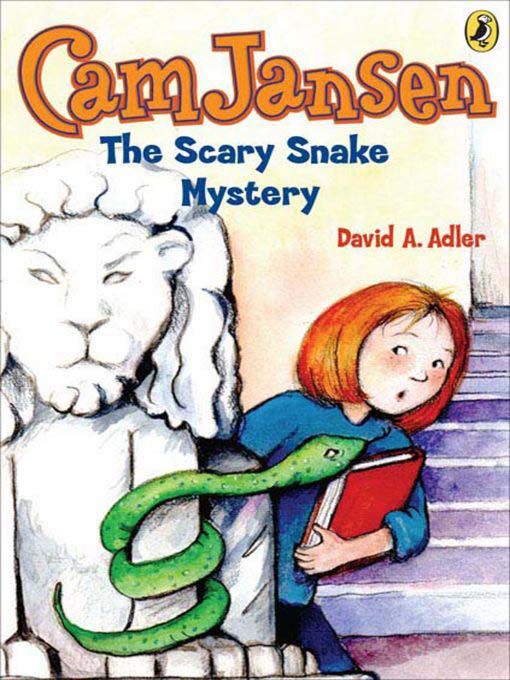 Cover of The Scary Snake Mystery