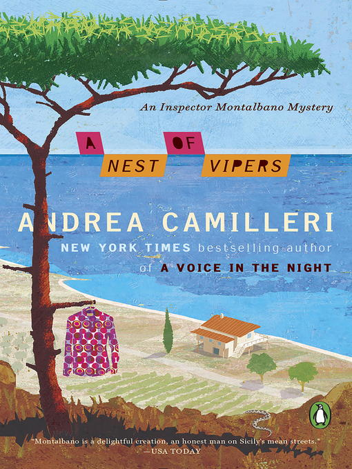 Title details for A Nest of Vipers by Andrea Camilleri - Wait list