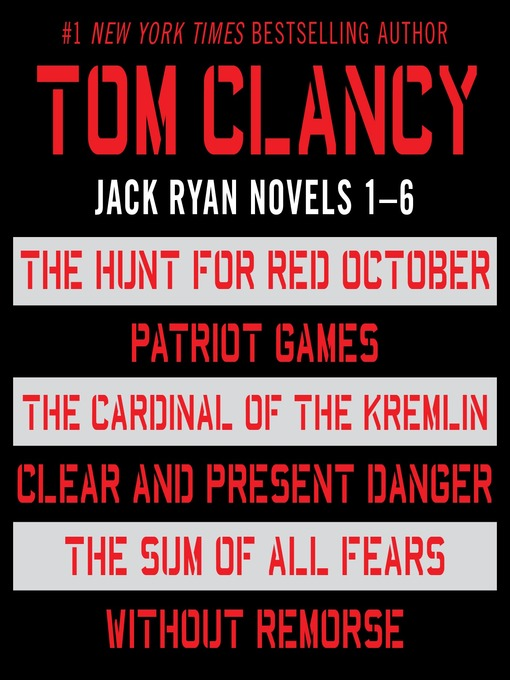 Title details for Jack Ryan, Books 1-6 by Tom Clancy - Wait list