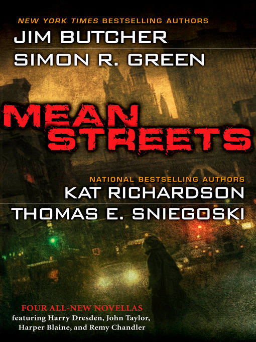 Title details for Mean Streets by Jim Butcher - Available