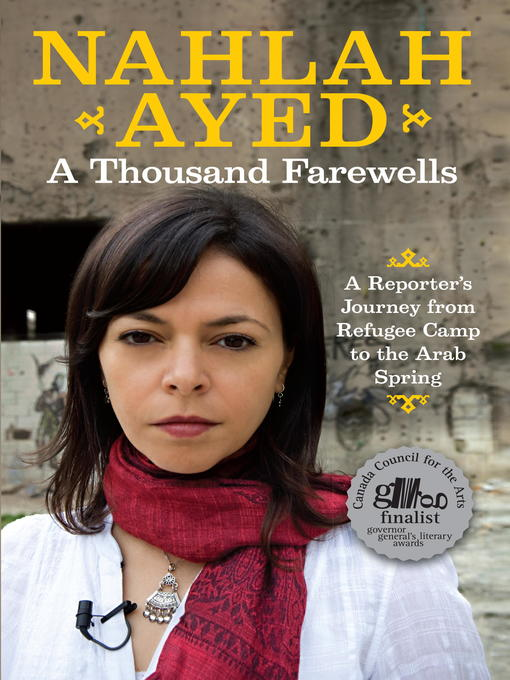 Title details for A Thousand Farewells by Nahlah Ayed - Wait list