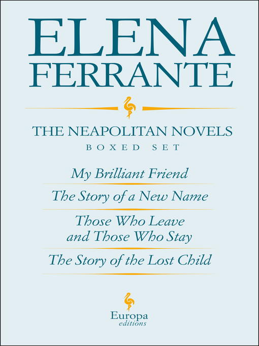 Cover of The Neapolitan Novels by Elena Ferrante Boxed Set