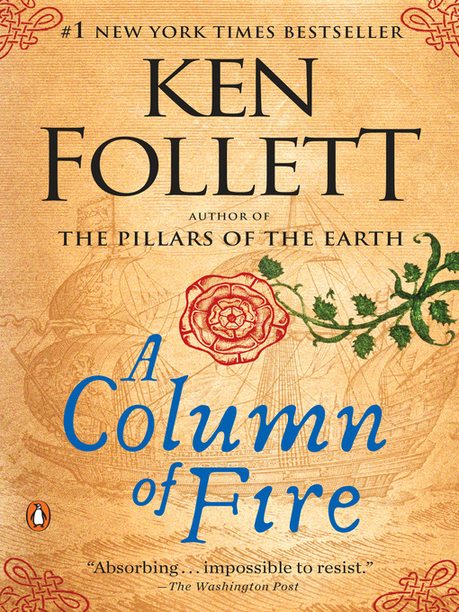 Title details for A Column of Fire by Ken Follett - Wait list