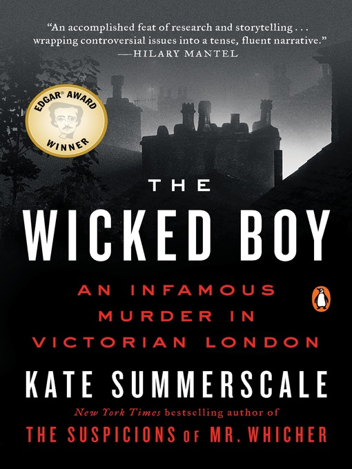 Title details for The Wicked Boy by Kate Summerscale - Available
