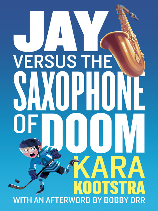 Cover of Jay Versus the Saxophone of Doom